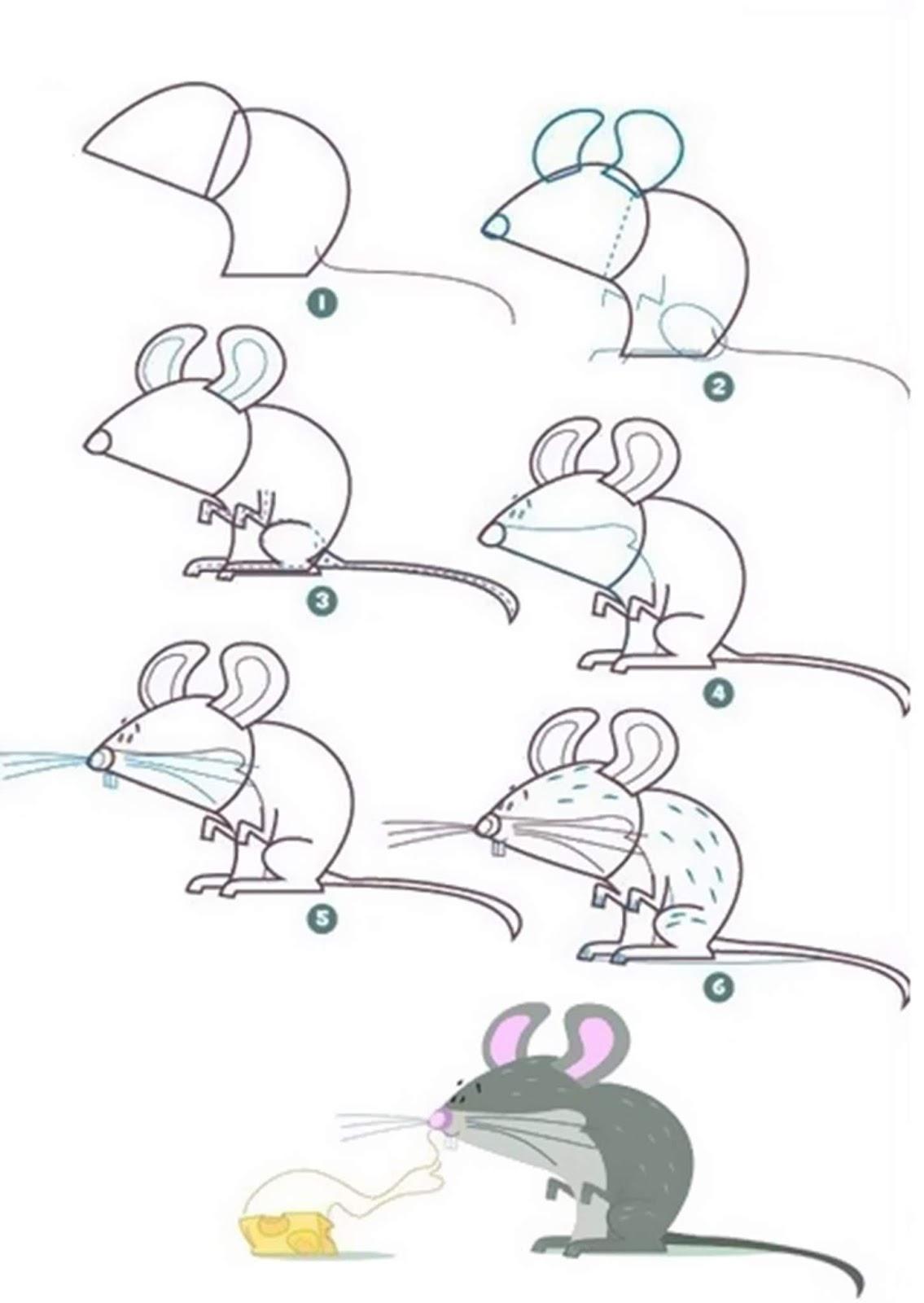 easy animal drawings step by step easy animal drawings cute easy animal drawings for beginners