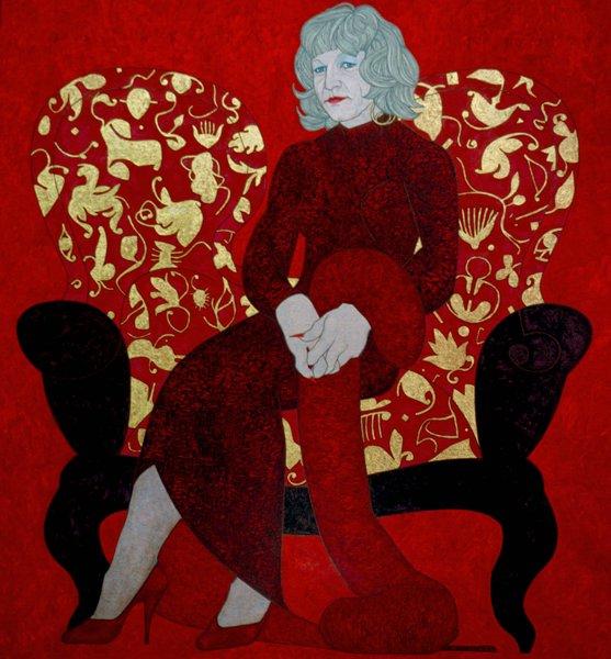 figuration feminine lia laimbock 1965. Black Bedroom Furniture Sets. Home Design Ideas