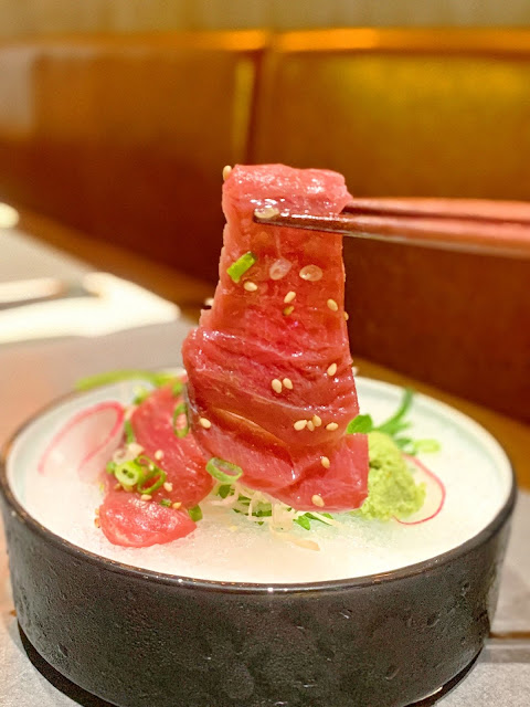 Hara, 可帶寵物, japanese, japanesefood, 佐敦美食, tuna, 西餐, hara.kitchen, girlsssstory, 日本料理, pet, sashimi, foodie, hellohungary,