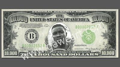 cara membuat efek uang kertas photoshop