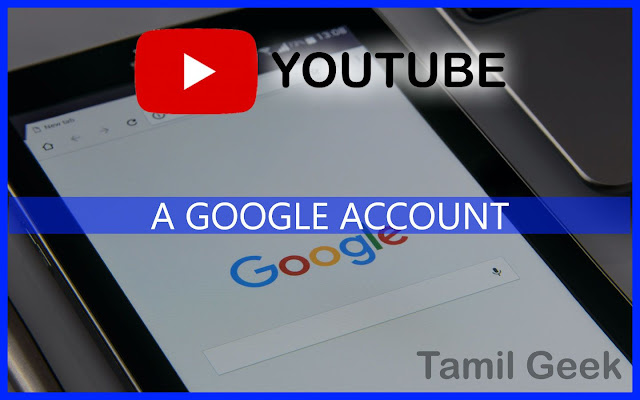 how to create a Google Account