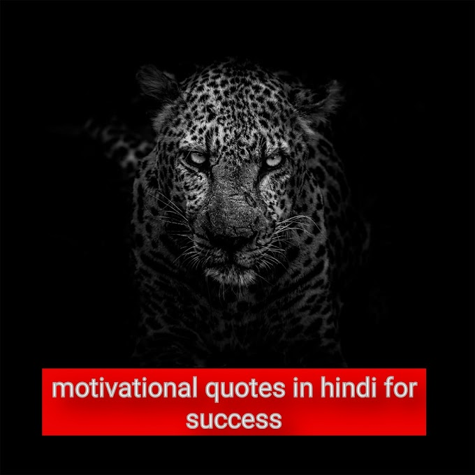 ये 9 कोट्स आपको सफल बना देंगे || 9 Motivational quotes in hindi for success