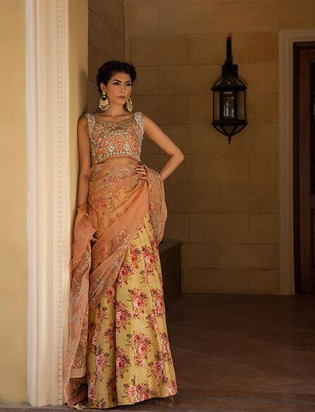 Bridal Lehenga Choli by Zara Shahjahan