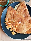 Carrot And Onion Dosa