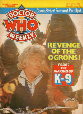 Doctor Who Weekly #14, the Ogrons vs Jon Pertwee