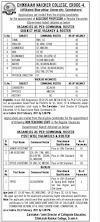 Assistant Professor-25posts & 11 Non teaching Staffs- Govt salary- last date 23.2.2021