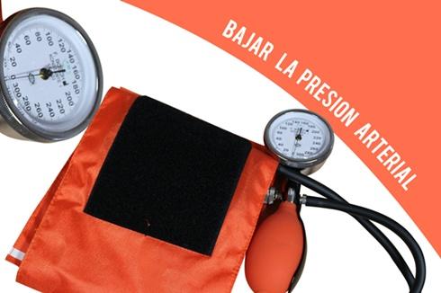 Bajar la presion arterial rapidamente