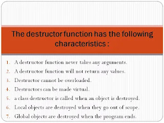 why destructor is important in programming? explain using one suitable example