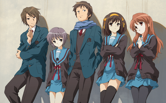 Suzumiya Haruhi no Shoushitsu ( The Movie ) Sub Indo | Anime Loker