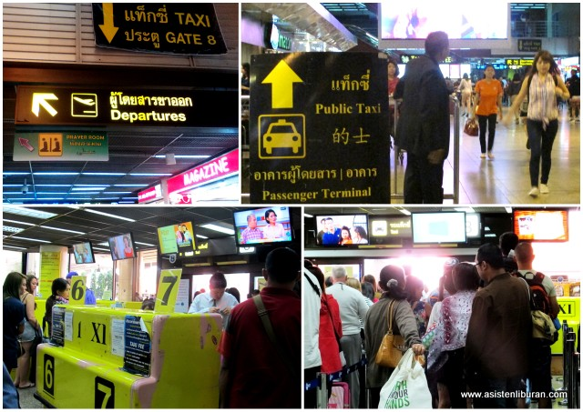 taxi Don Muang Bangkok
