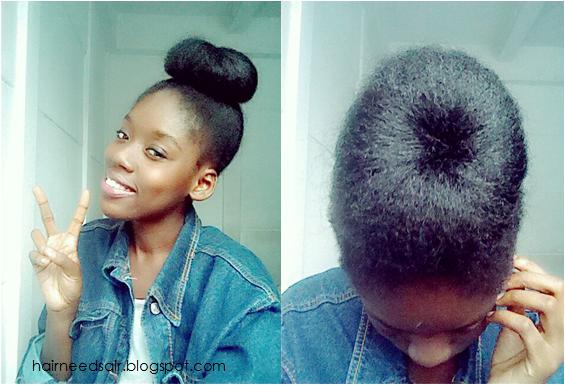 COMMENT FAIRE SON DOUGHNUT POUR CHIGNON   PureCannelle - Blog Lifestyle & Beauté Noire