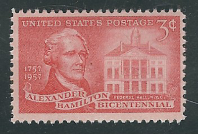 Alexander Hamilton, American general, economist, and politician, 1st United States Secretary of the Treasury