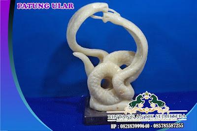 Patung Ular Kobra | Contoh Patung Dekoratif