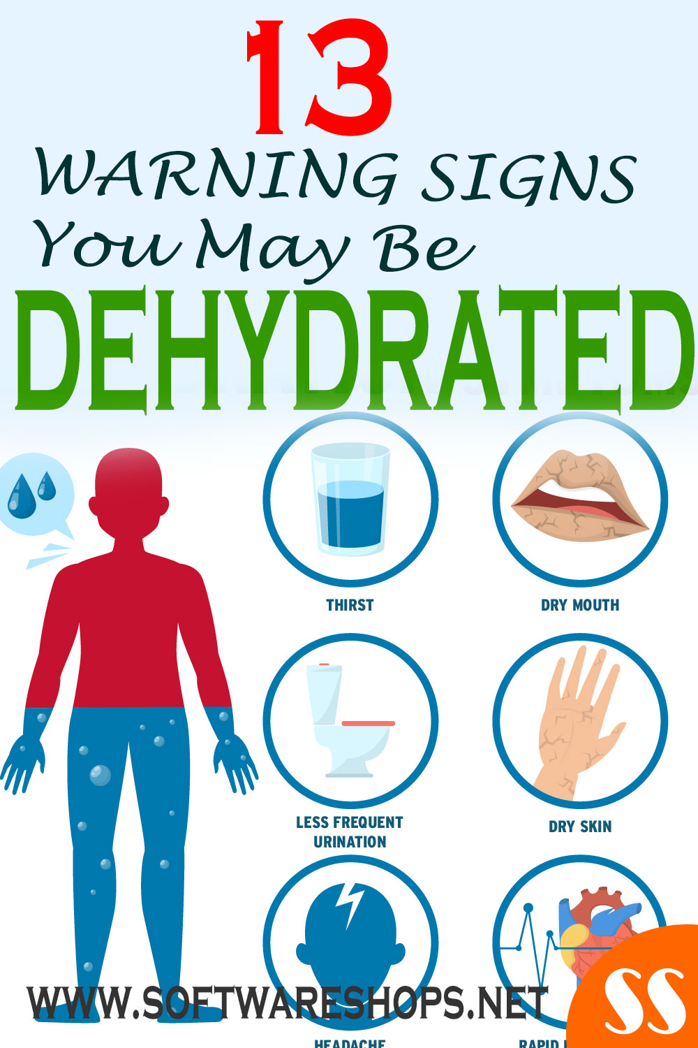 13 warning signs you may be dehydrated