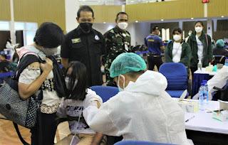 Dukung Percepatan Vaksinasi, Serbuan Vaksinasi Kembali Digelar Di Seskoau