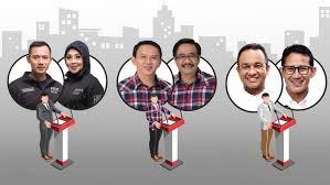 Ahok-Djarot Untuk Sementara Ungggul di Pilkada DKI Jakarta