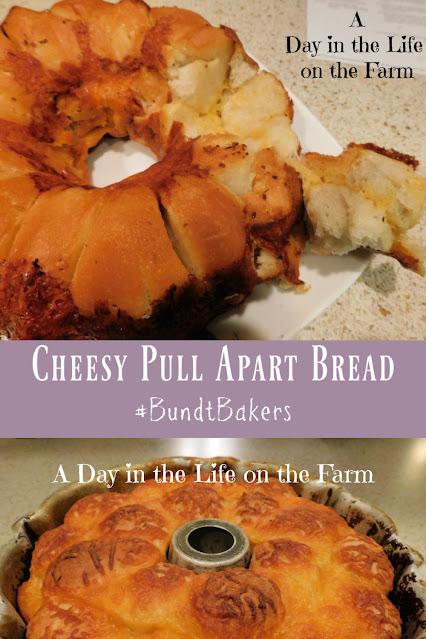 Pull apart bread pin