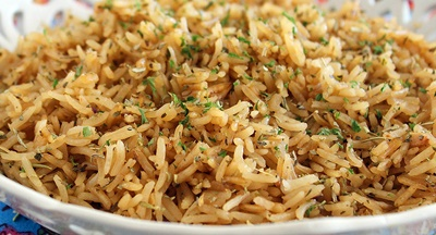 Beefy Onion Rice