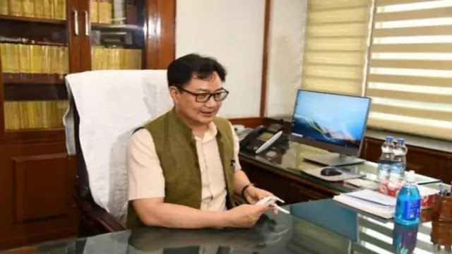 kiren-rijiju-takes-charge-as-minister-of-law-justice-daily-current-affairs-dose