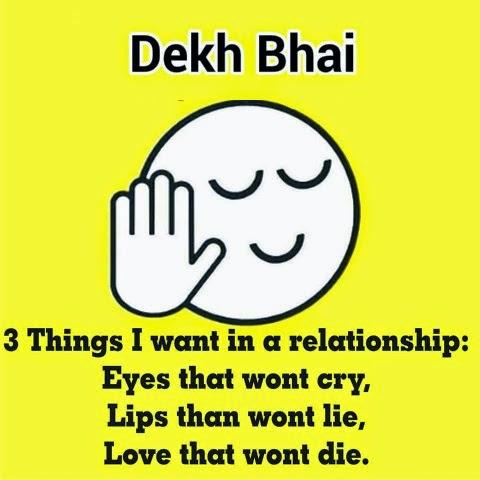 Dekh Bhai Whatsapp DP Funny Images {Dekh Bhai Whatsapp Profile ...