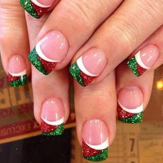 decoracion de uñas navidad
