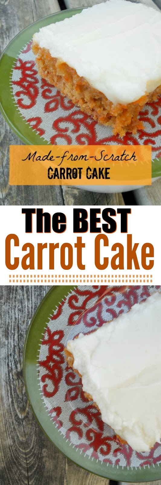 made from scrach carrot cake (sweetandsavoryfood.com)