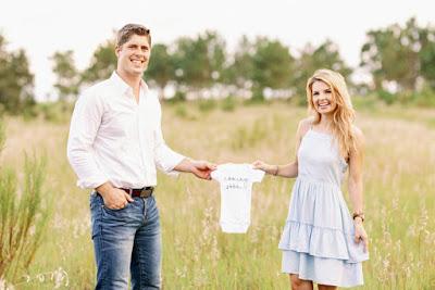 John Webster and Alyssa Bates Webster pregnant
