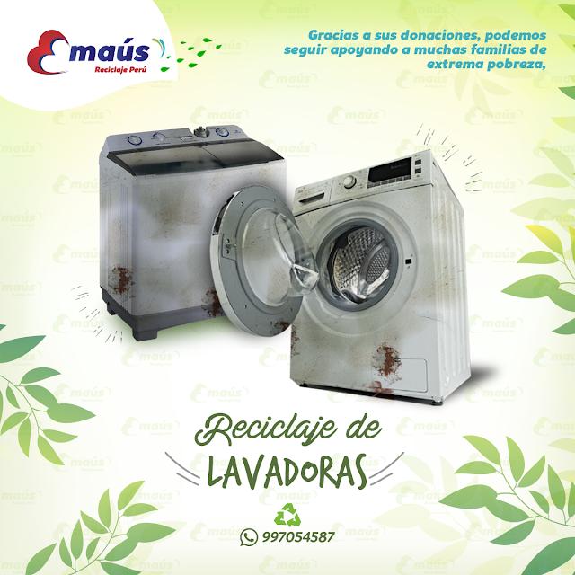 Reciclaje de Lavadoras - Emaús Reciclaje Perú