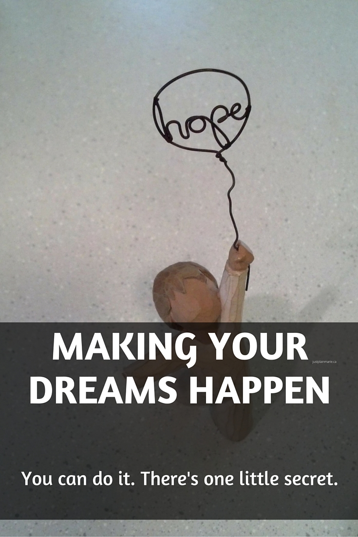 Are you willing to do what it takes to make your dreams happen?