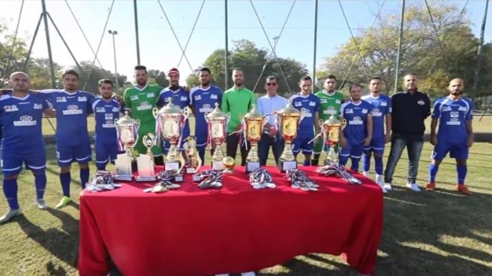 """"""" فاست """" تحصد المركز الثاني في البطولة العمالية الثالثة لكرة القدم"""
