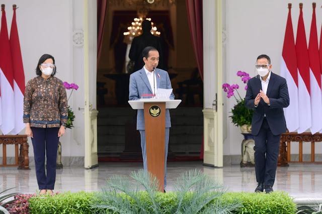 Presiden Kenalkan Anggota Dewan Direktur Indonesia Investment Authority