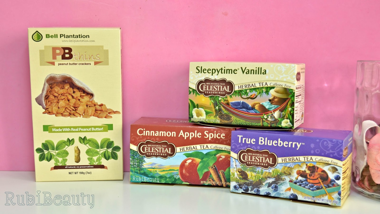 iherb haul review impresiones opinion compras celestial seasonings PBThins bell plantation