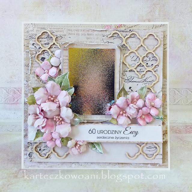 urodziny, kwiatki, hand made