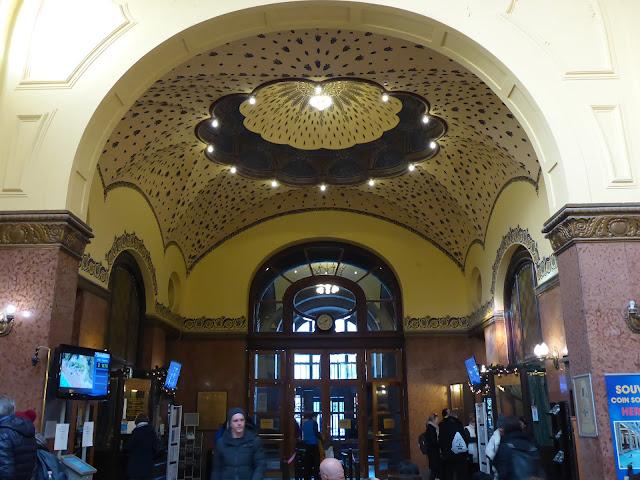 Hall des bains Gellert Budapest Hongrie