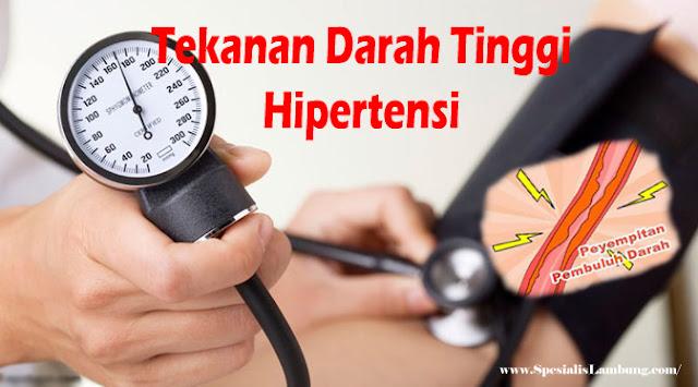 Mengatasi Tekanan Darah Tinggi atau Hioertensi