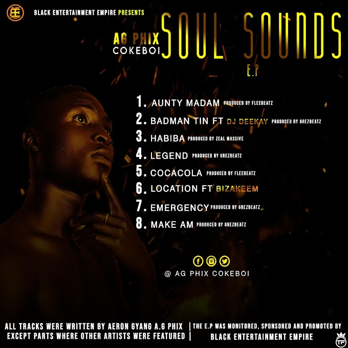 DOWNLOAD: AG Phix - Soul Sounds | EXTENDED PLAY ~ Reelplugmedia NG