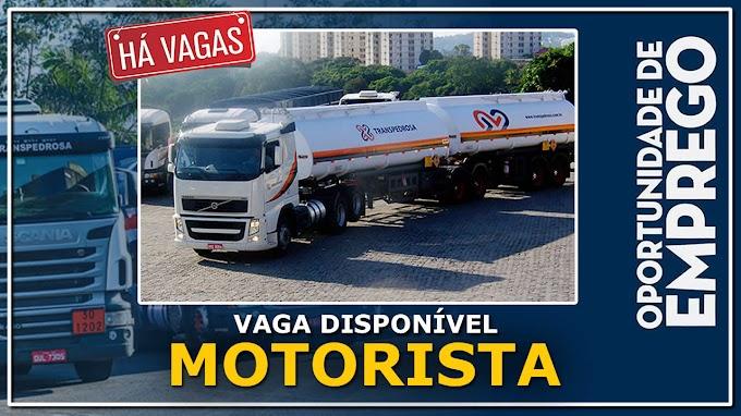 Trans Pedrosa abre vagas para Motorista Carreteiro