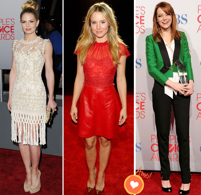 5 Os looks do Peoples Choice Awards 2012