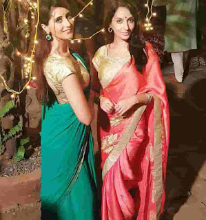 Nora Fatehi With Eisha Megan
