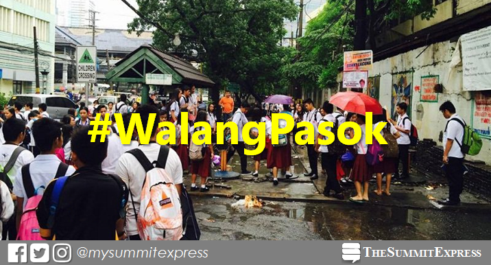 #WalangPasok: Class suspensions for Tuesday, August 27, 2019