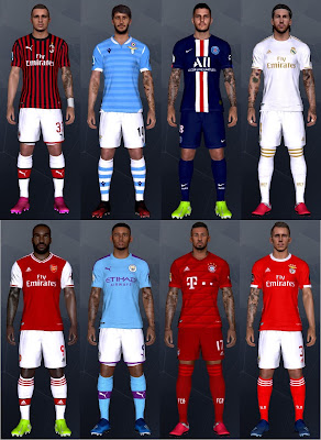 PES 2017 NEW Mega Tattoopack by Hcs