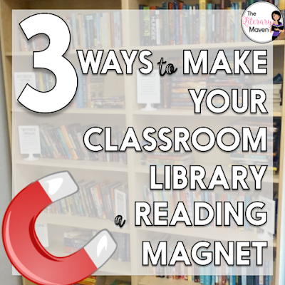 I'm committed to building that community of readers in my classroom. I can't do that without making sure my classroom library is one that will attract students no matter what their reading interests are. Read on for how I make sure my classroom library does that.
