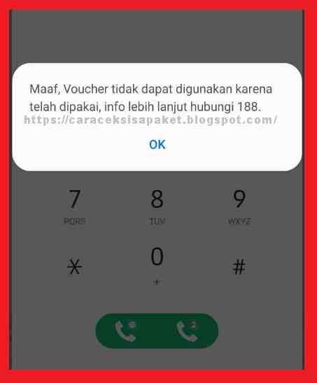 Cara isi ulang paket data telkomsel sangat mudah Cara Cek Kode SN Voucher Telkomsel Sudah Terpakai Atau Belum Digunakan