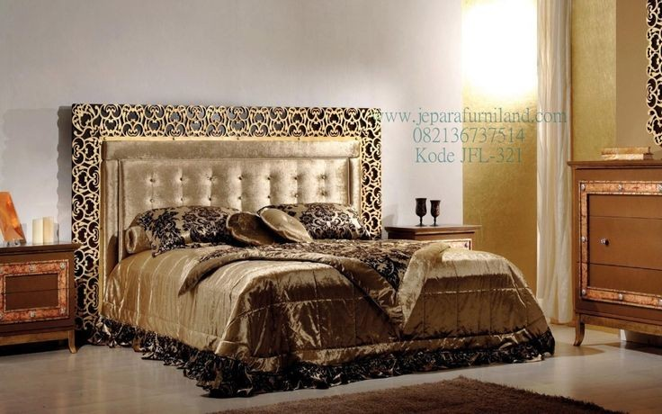 model tempat tidur dari kayu jati 4