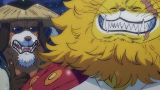 ワンピースアニメ 993話 ワノ国編   ONE PIECE ネコマムシ