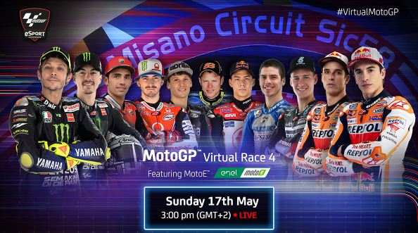 Jadwal MotoGP 2020 Virtual Race 4