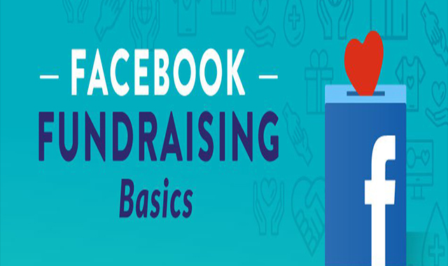 How do I start a fundraiser on Facebook? #infographic
