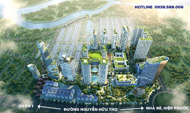 Dự án Lavila ở đường Nguyễn Hữu Thọ, Nhà Bè.