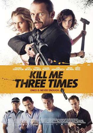 Kill Me Three Times 2014 BRRip 700Mb Hindi Dual Audio 720p