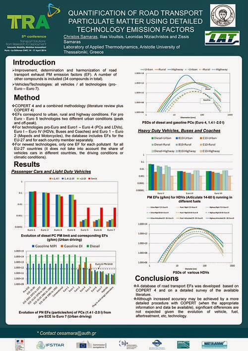 Quantification Of Road Transport Particulate Matter Using Detailed Technology Emission Factors